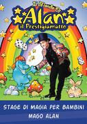 Stage di magia per bambini Mago Alan
