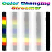 Striscia di seta che cambia colore