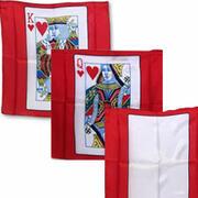 Card Silk 45x45 fondo rosso
