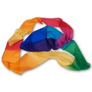 Striscia di seta multicolore 9 m x 10 cm GSH
