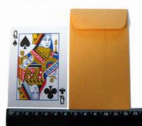 Bustine avana 7.50cm x 11.70cm (carte da poker)