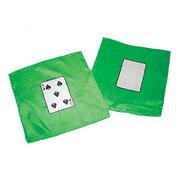 Mini card silk - Cm 20 x 20 - 5 di picche e carta bianca