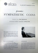 Sympathetic coins - T. Mantovani