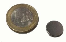 Magnete al Neodimio Disco 12mm x 1,5 mm