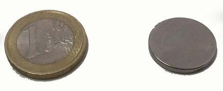 Magnete al Neodimio  Disco 18mm x 2mm