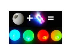Pallina Glowball G-Light 70 mm Multicolor