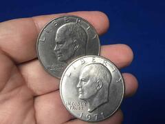 Dollaro d\'argento Eisenhover