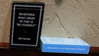 Magic Notebook Deck black Dai Vernon