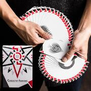 Cardistry Fanning Playing Cards White