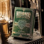 Green National Playing Cards