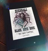 Svengali Black  Notebook (small) by Alan Wong
