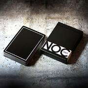 Noc out Black playing cards