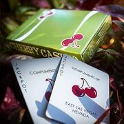 Cherry Casino (Sahara Green) Playing Cards