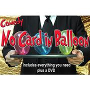 Comedy no card in balloon by Quique Marduk