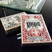 Gamesters IMPS Playing Cards rosse e nere