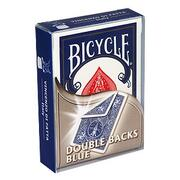 Bicycle doppio dorso blu/blu