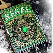 Regal Playing cards Green