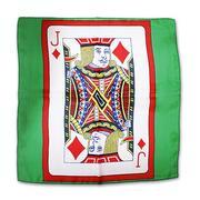 Card silk 45x45 fondo verde
