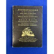 Dissertazione..... Costantino Grimaldi