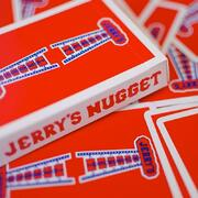 Modern Feel Jerry\'s Nuggets Red Playing Cards