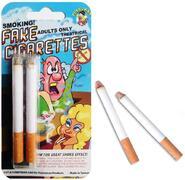 Sigarette finte con fumo
