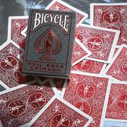 Bicycle metalluxe new red