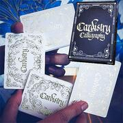 Cardistry Calligraphy Golden