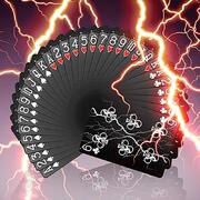 Bicycle Lightning Playing Card