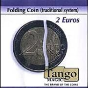 Folding Coin  2 Euro Traditional system Moneta nella bottiglia