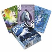 Bicycle Anne Stoke Unicorns Playing Cards