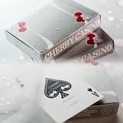 Cherry Casino McCarran Silver Playing Cards