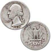 Quarti di dollaro d\'argento