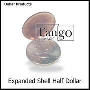Expanded Shell coin Half Dollar Conchiglia per mezzo dollaro