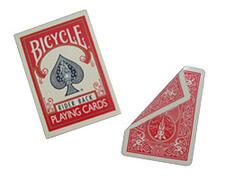 Bicycle doppio dorso rosso/rosso