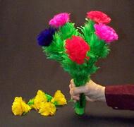 Bouquet di fiori che sbocciano 5 fiori