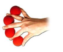 Moltiplicazione delle palline di spugna