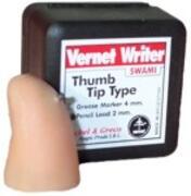 Thumb tip writer pencil lead 2mm